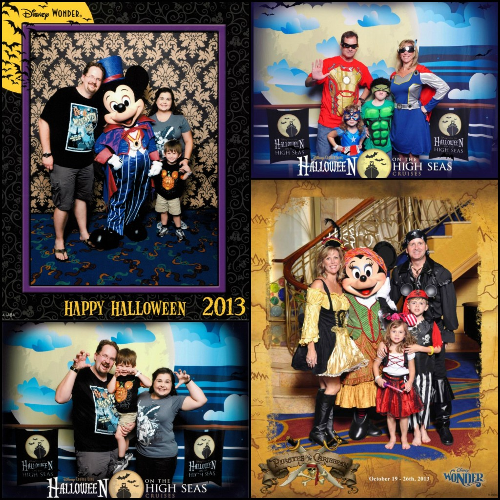 Disney Mama Angela and Disney Mama Lin enjoyed the Halloween on the High Seas festivities onboard the Disney Wonder!