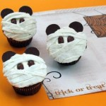 Disney Recipe: Mickey Mummy Cupcakes