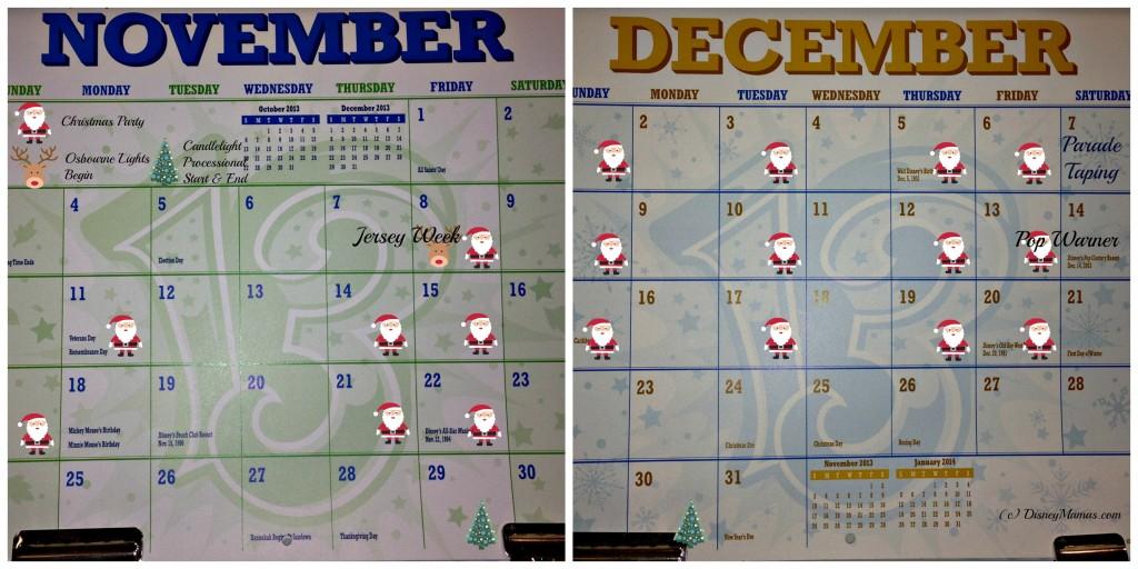 November & December 2013 Events