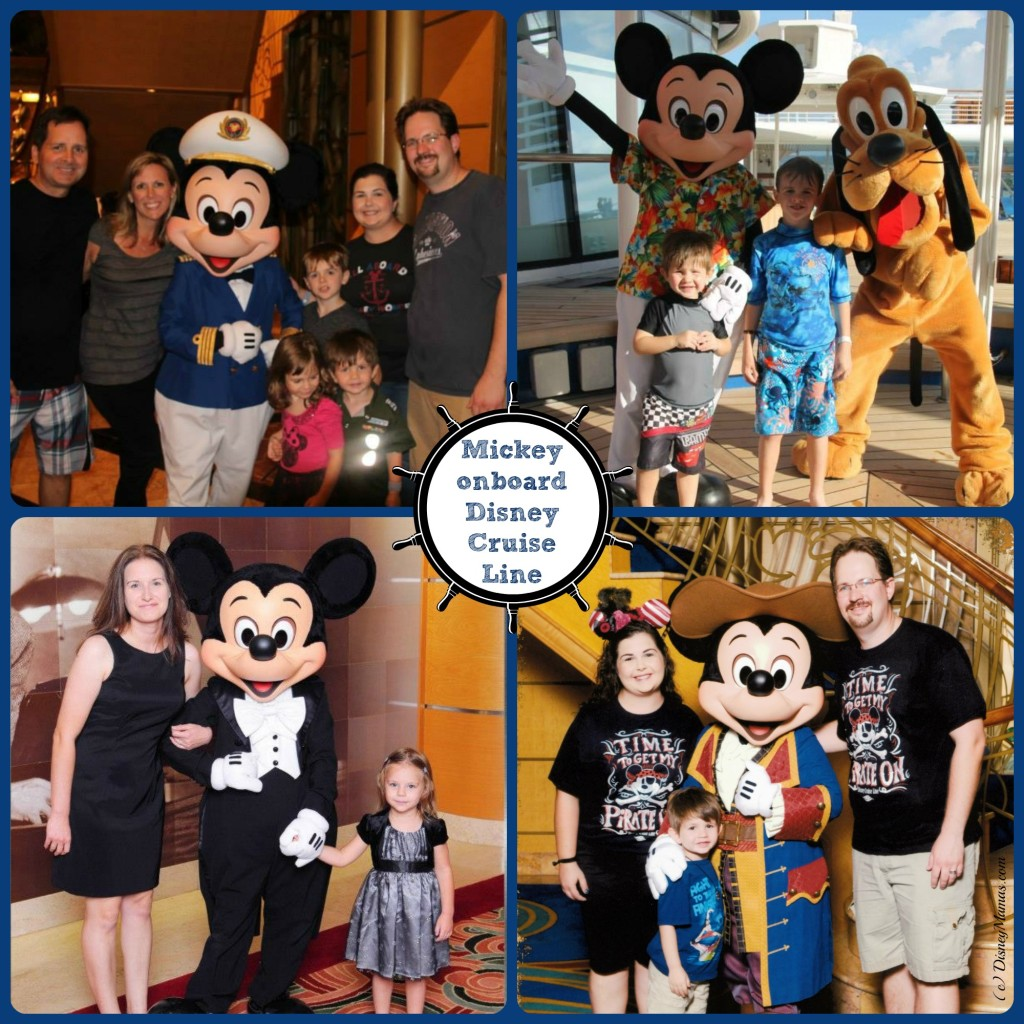Mickey Onboard Disney Cruise Line