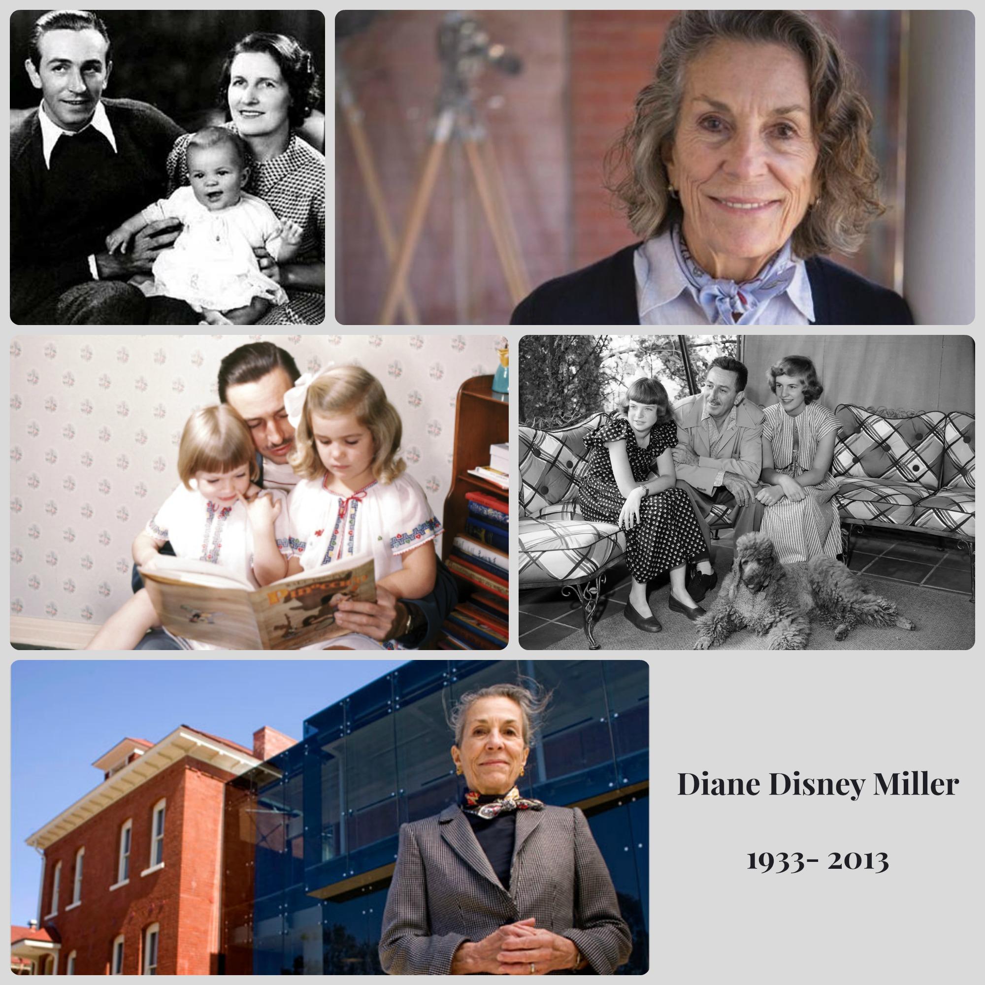 In Memory of Diane Disney Miller