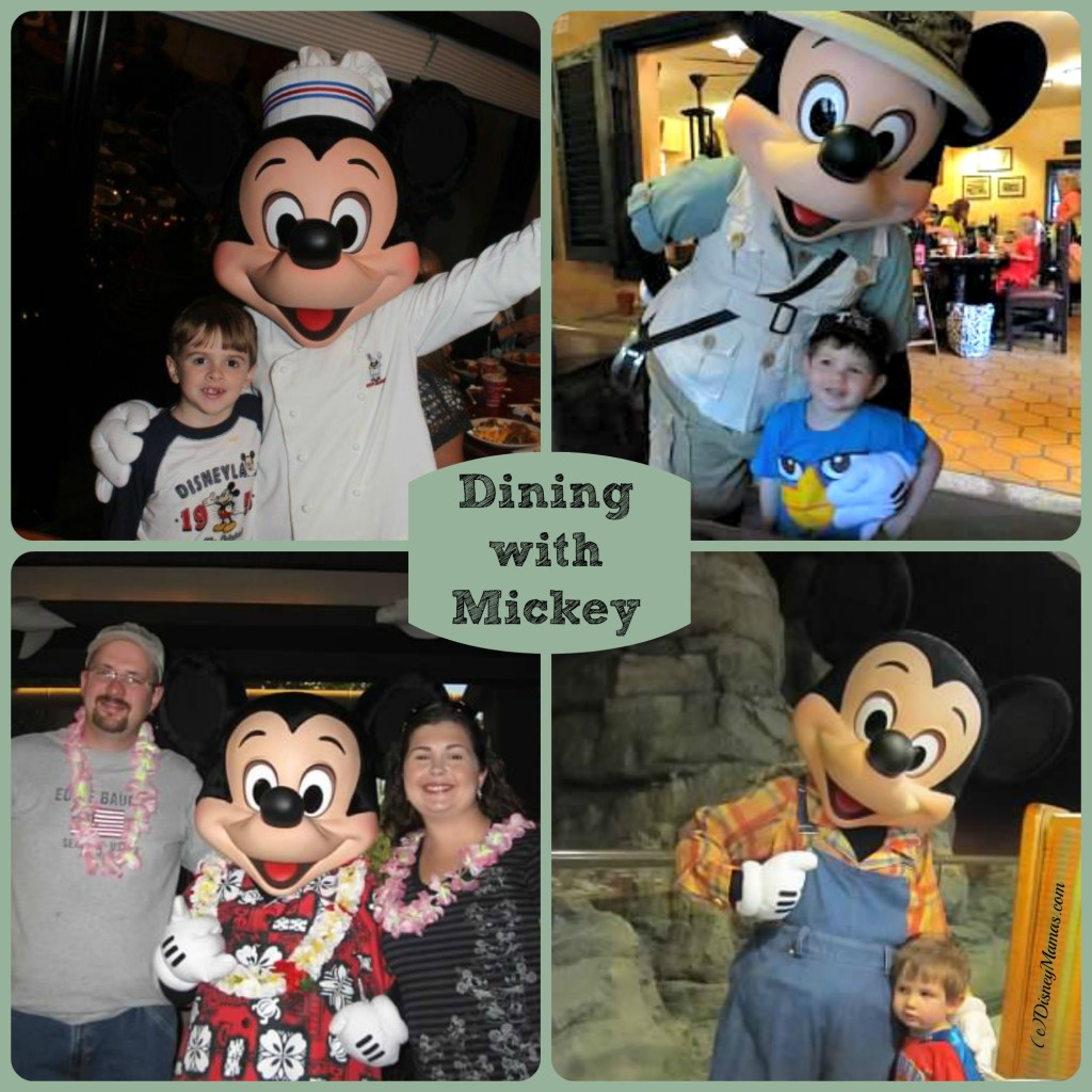 Dining with Mickey