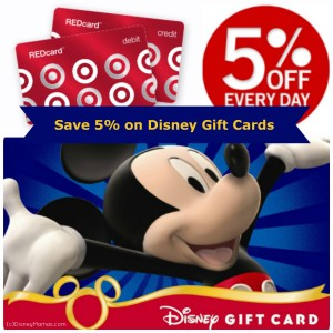Save 5% on Disney Gift Cards