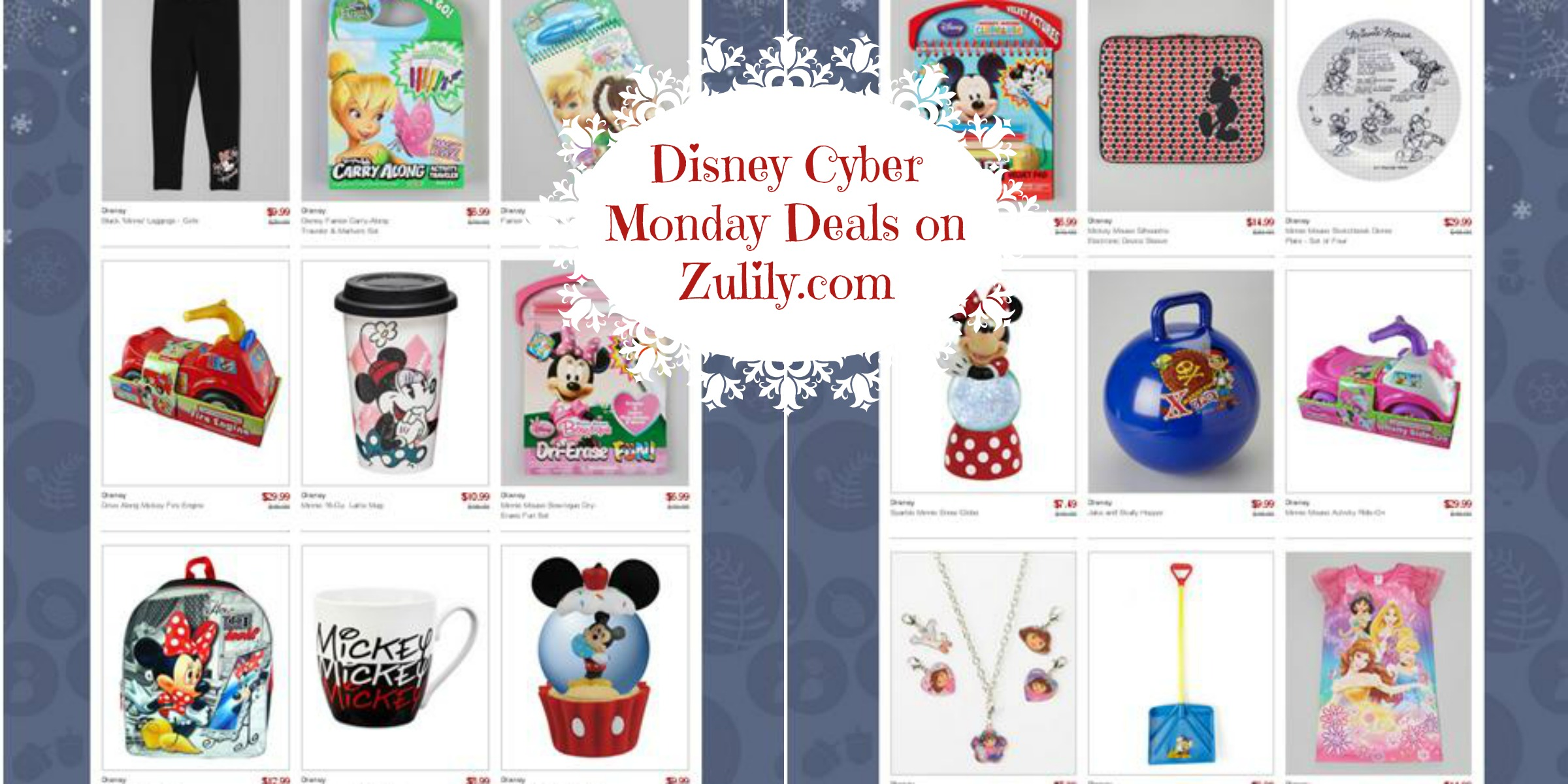 Great deals on Disney products over at Zulily.com!