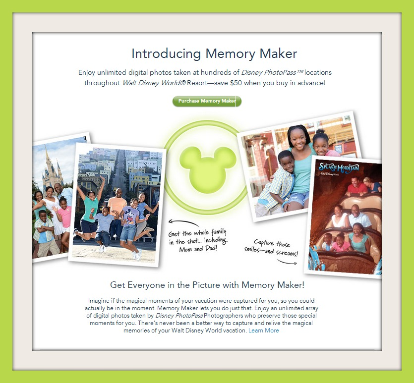 New Memory Maker product replaces PhotoPass+