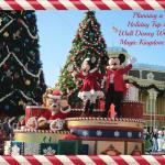 Planning a Holiday Trip to Walt Disney World ~ Part Three: Magic Kingdom