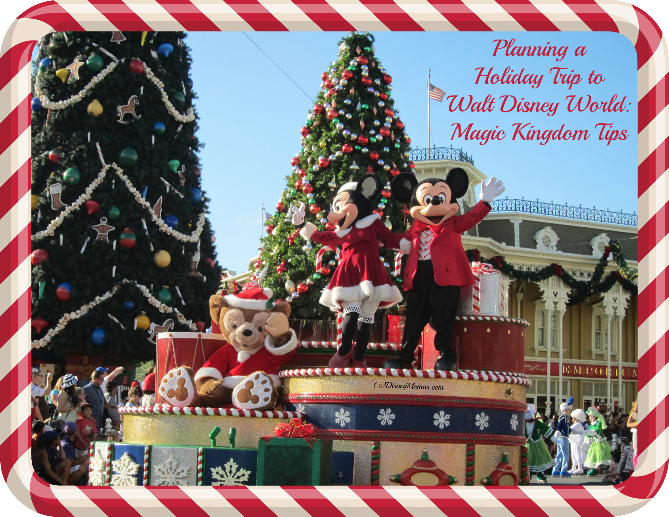 Tips for Touring Magic Kingdom During the Holidays