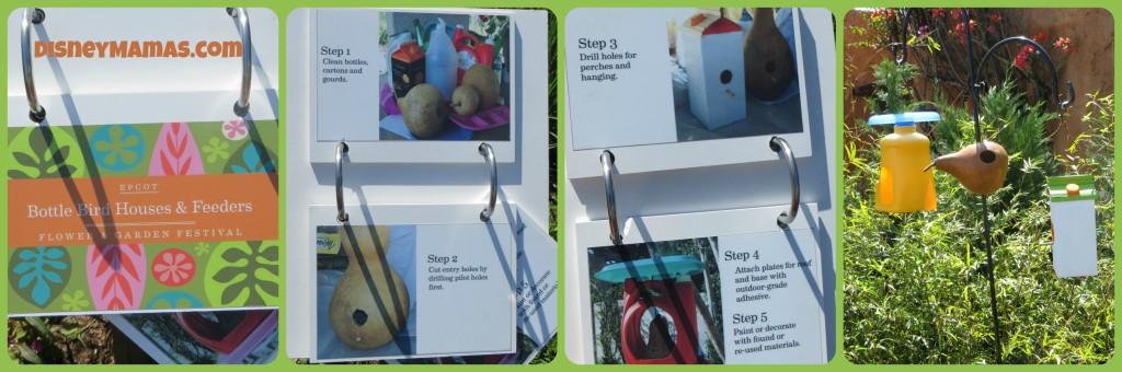 Epcot International Flower and Garden Festival Bird Feeder Project
