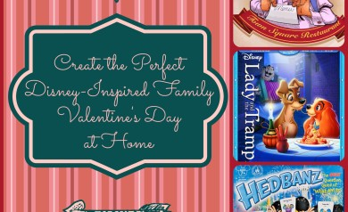 The perfect Disney Valentine's Day at home