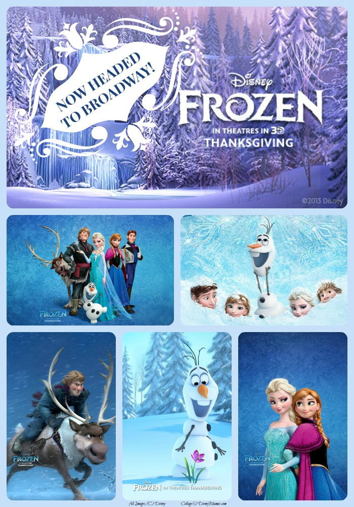 Disney's Frozen is on it's way to Broadway!