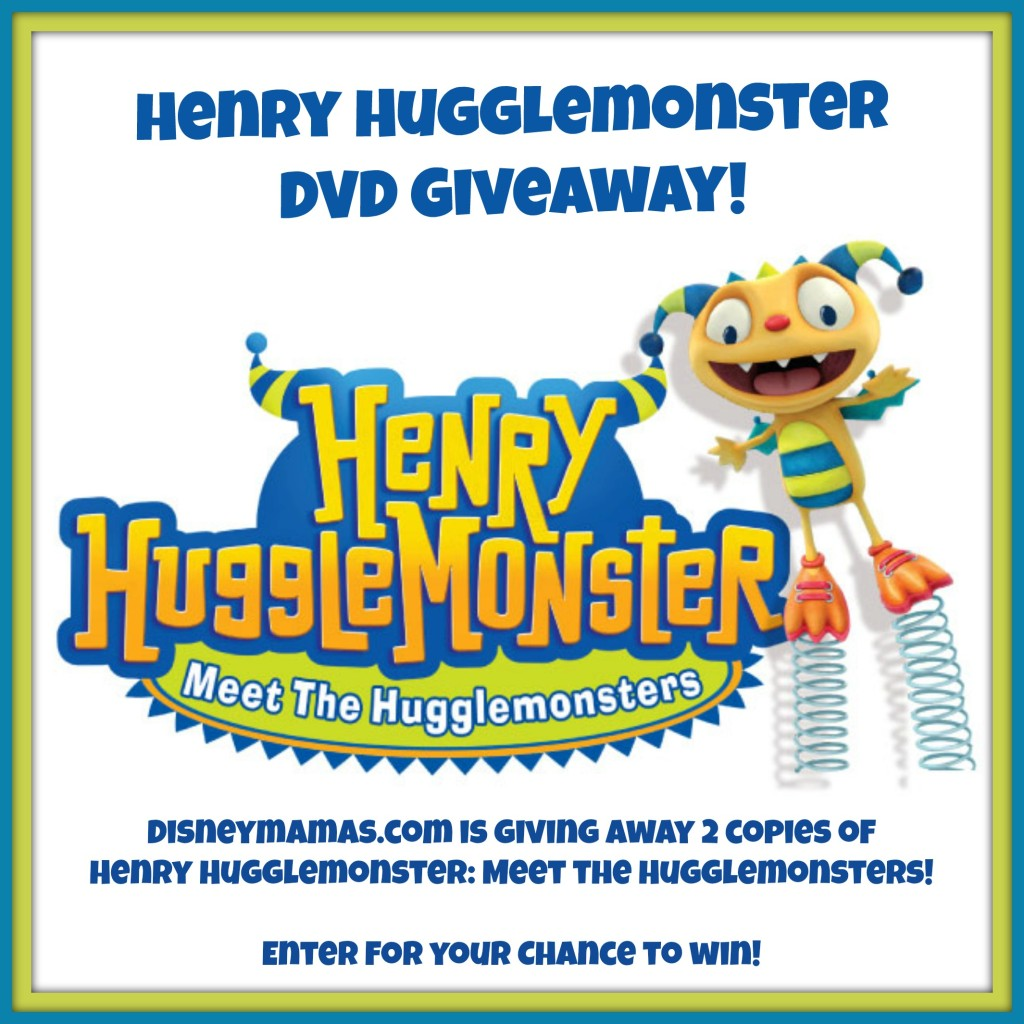 Enter to win a copy of Henry Hugglemonster on DVD from DisneyMamas.com