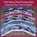WDW Transportation Cards: Fun and Free for Kids!