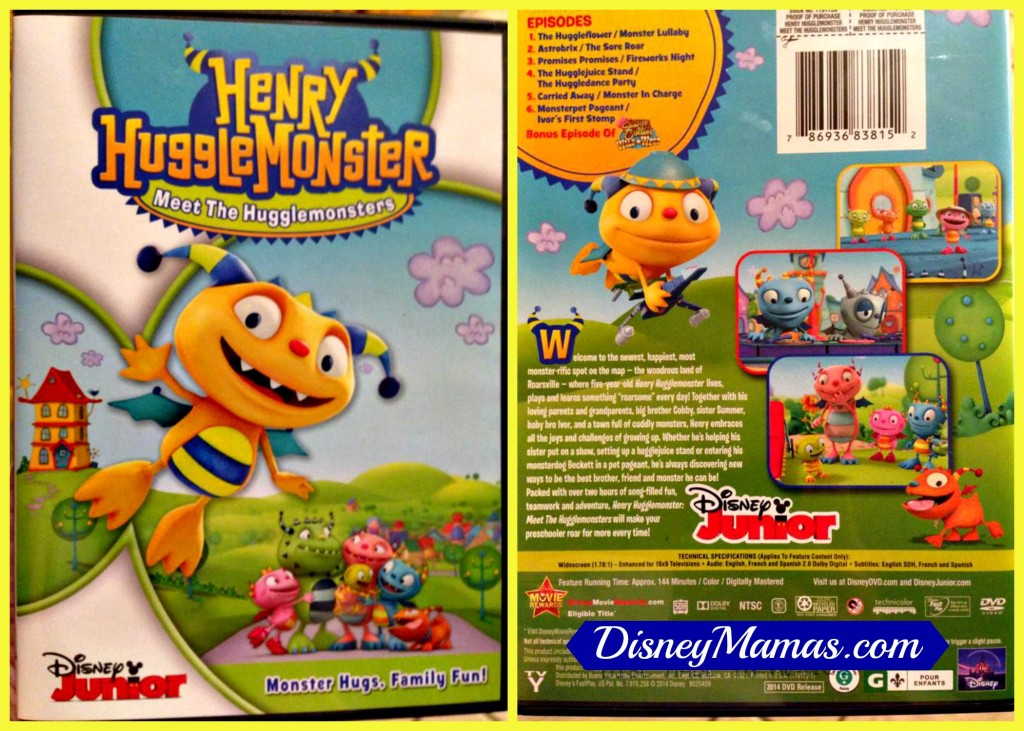 Win a copy of Henry Hugglemonster from DisneyMamas.com