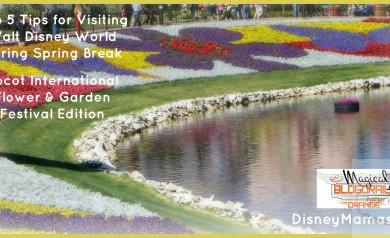 5 Tips for Epcot's International Flower & Garden Festival