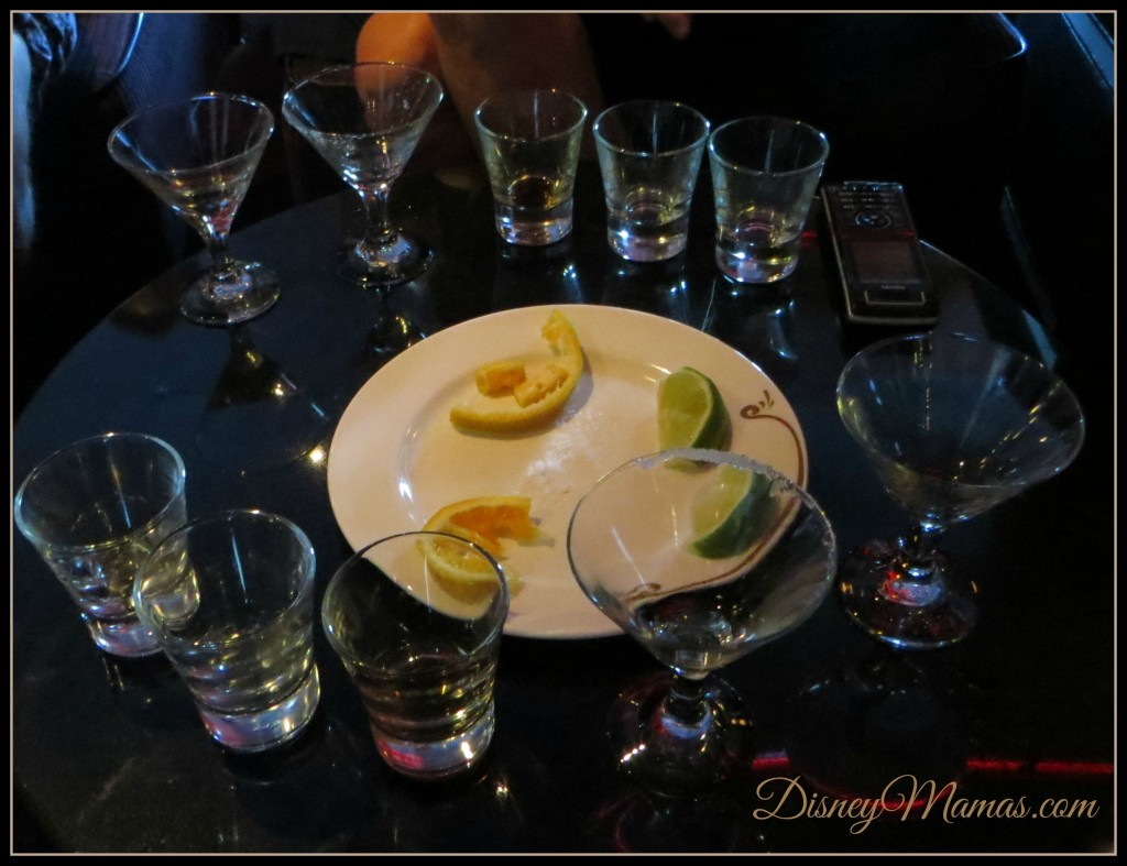 Tequila Tasting on Disney Cruise Line