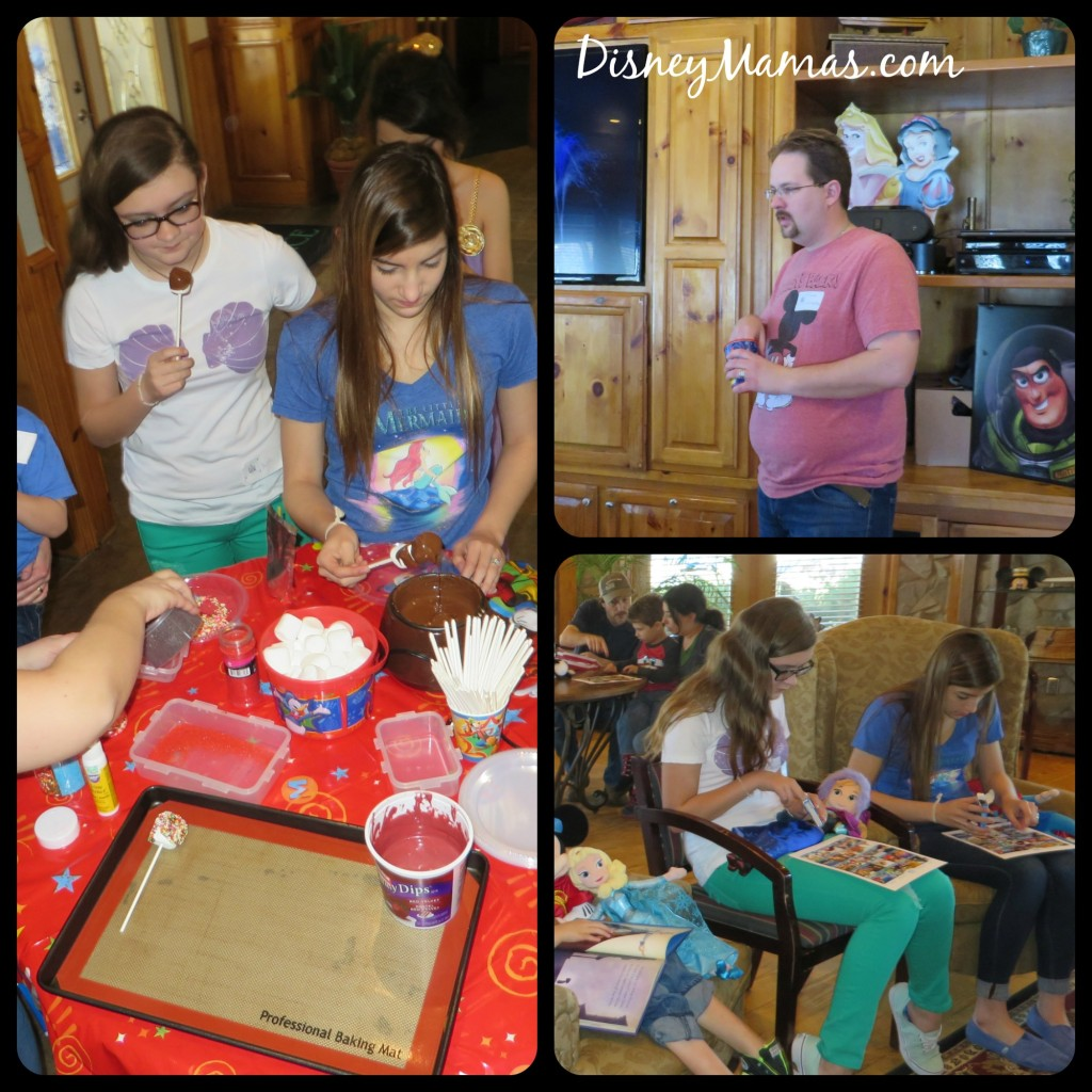 Bingo, Trivia and Marshmallow Dipping