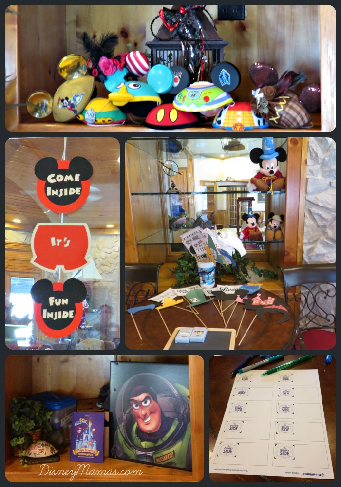 DisneySide Party Set-up