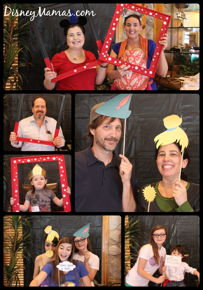 Guests Showing Off Their DisneySide with Fun Photo Props