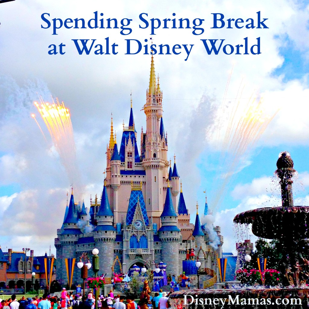 Spring Break is the perfect time to visit Walt Disney World. The weather is gorgeous and the crowds are more manageable than during other school holidays.