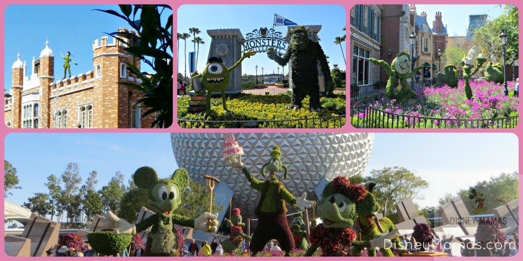 Character Topiary Displays at Epcot's International Flower & Garden Festival