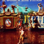 Beat the Heat at the Casey Jr. Splash 'N' Soak Station