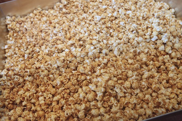 Karamell-Kuche Caramel Corn