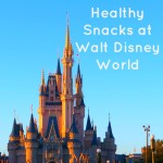 Healthy Snacks at Walt Disney World