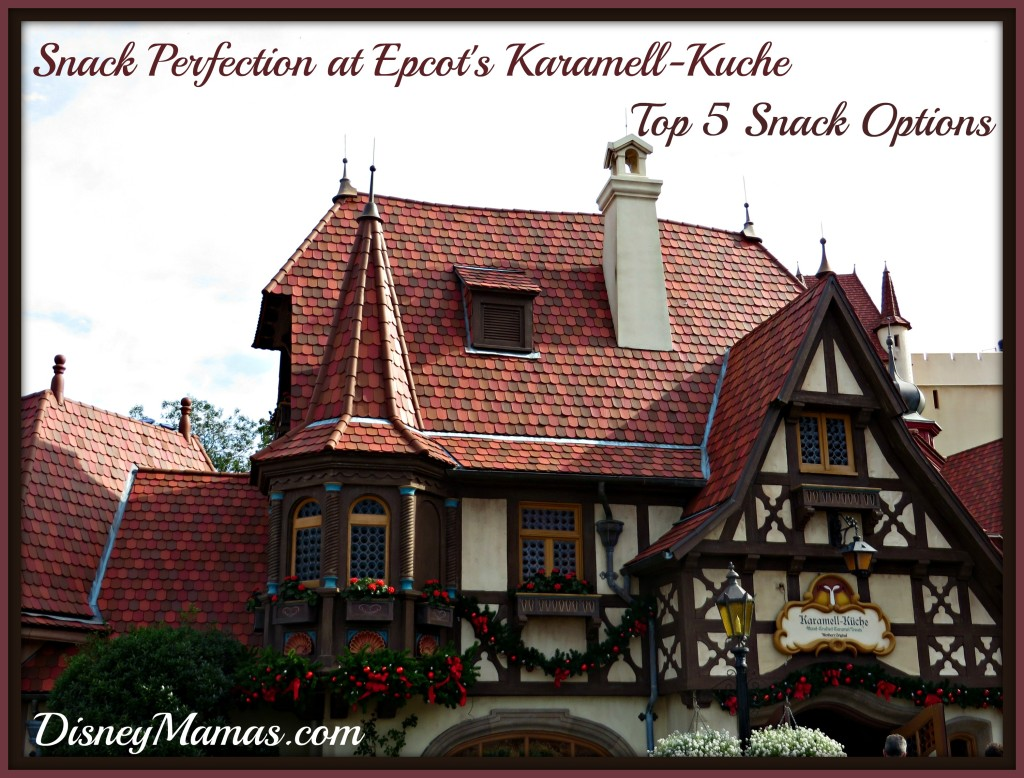 Epcot's Karamell-Kuche