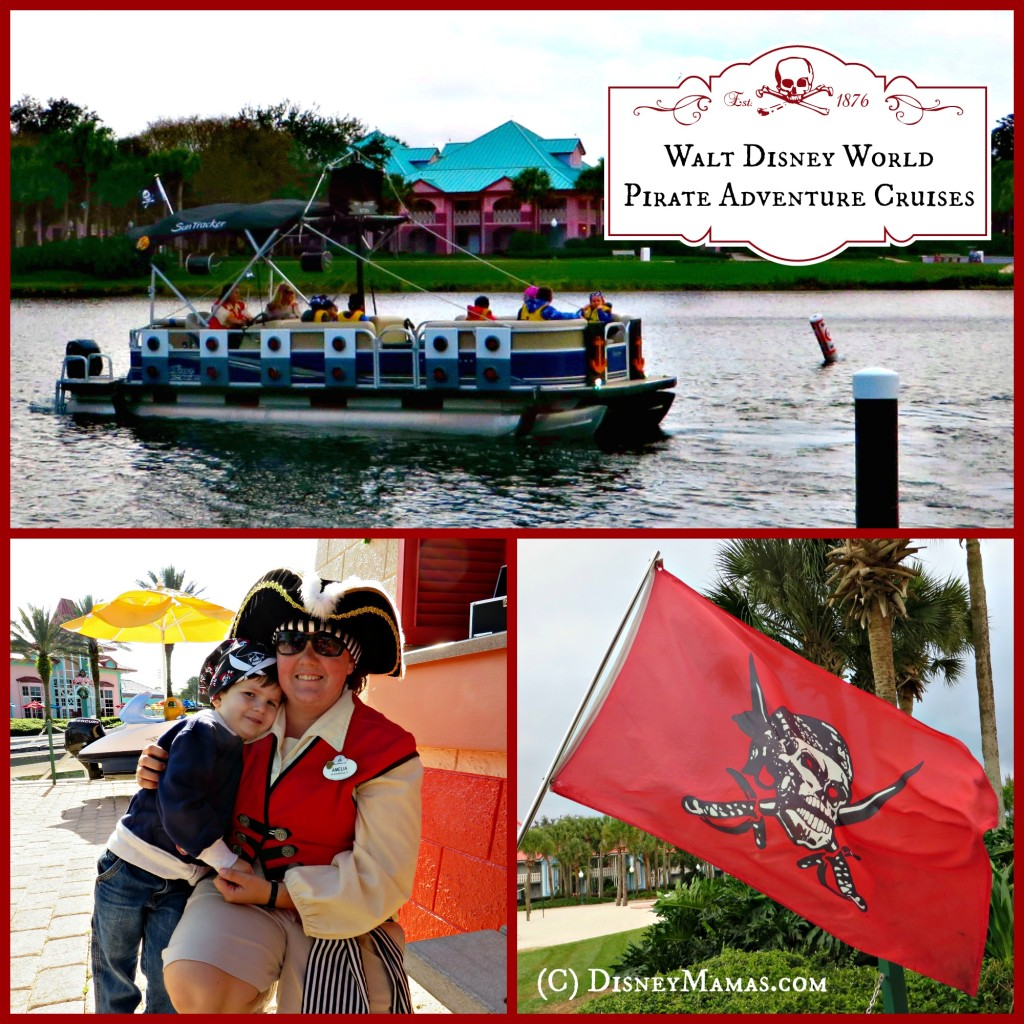 Walt Disney World Pirate Adventure Cruises are great for kids!