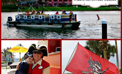 Walt Disney World Pirate Adventure Cruises are great for kids!