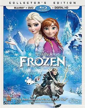 Frozen DVD Giveaway