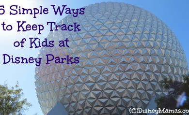 5 Simple Ways to Keep Track of Kids at Disney Parks
