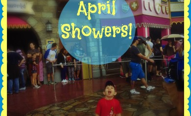 April Showers at Disney Parks!