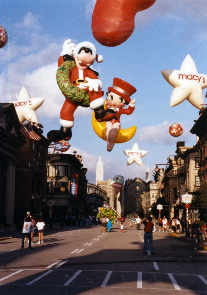 Macy's Thanksgiving Day Parade Balloons made a visit to the then Disney's MGM Studios in 1991.