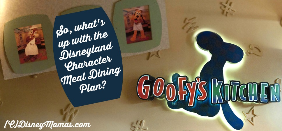 Understanding the Disneyland Character Meal Dining Plan