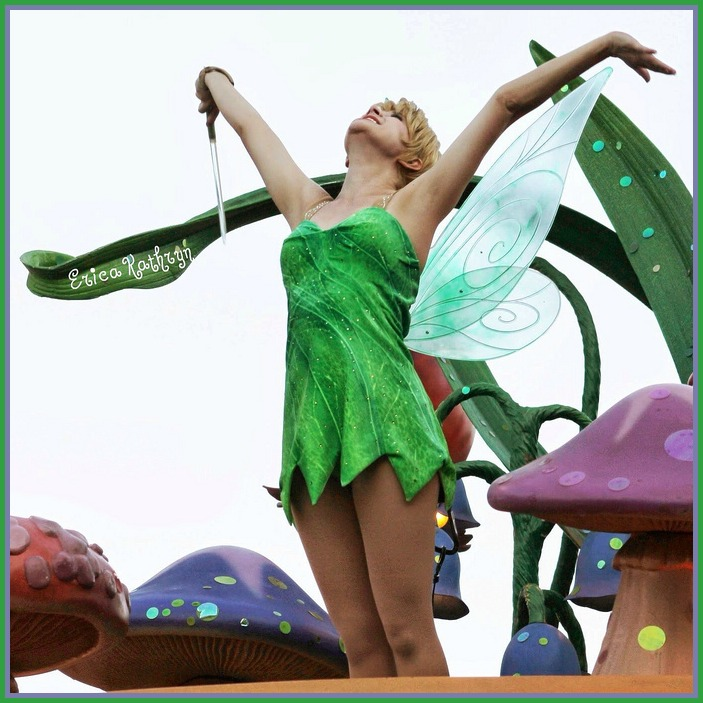 Faith! by Erica Kathryn -  At Disneyland Tinker Bell can be found in Pixie Hollow and in Mickey's Soundsational Parade.