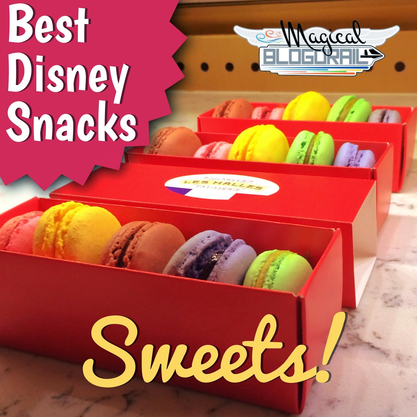Deliciously Sweet Disney Snacks