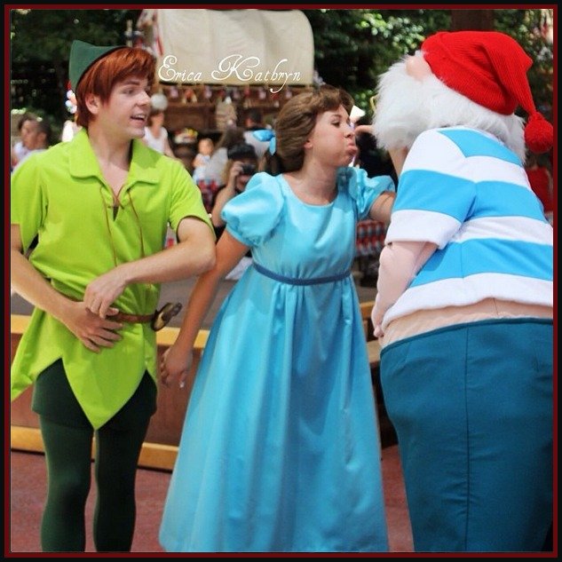 Wendy, Peter and Mr. Smee