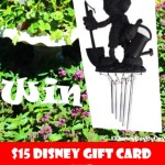 May Flowers #Giveaway ~ Mickey Wind Chime and Disney Gift Card!