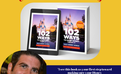 102 Ways to Save Money For and At Walt Disney World is the perfect book for making your Disney vacation a financial reality.