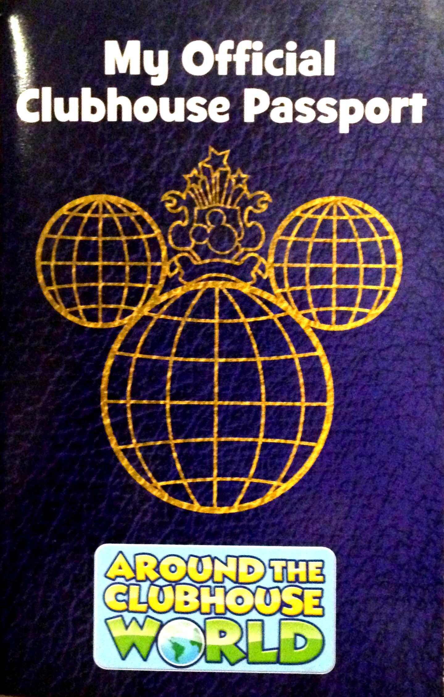 My Official Clubhouse Passport - included with each DVD.