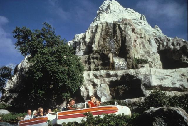 Disneyland's Famous Matterhorn