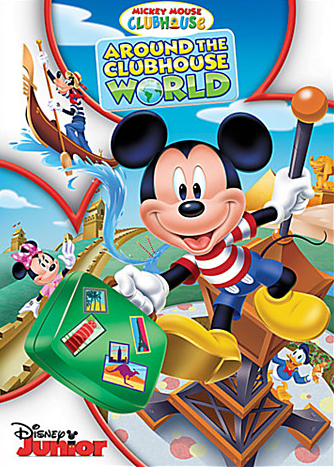 Enter to win a copy of Mickey Mouse Clubhouse: Around the Clubhouse World!