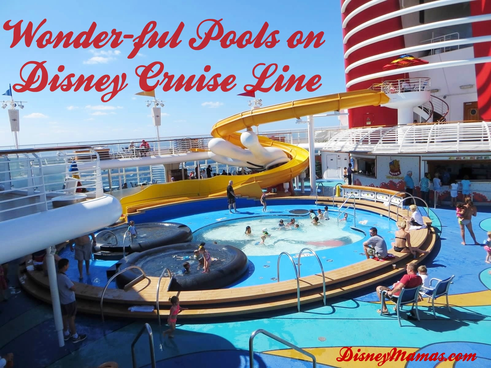 Disney Cruise Line has pools to suite every traveller!
