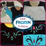 DIY Disney Frozen Inspired T-Shirts