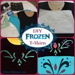 DIY Disney Frozen Inspired T-Shirts