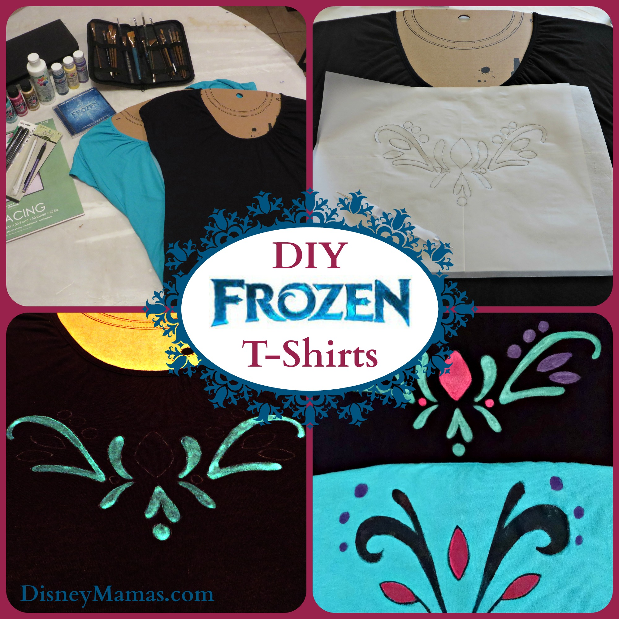 T shirt design homemade