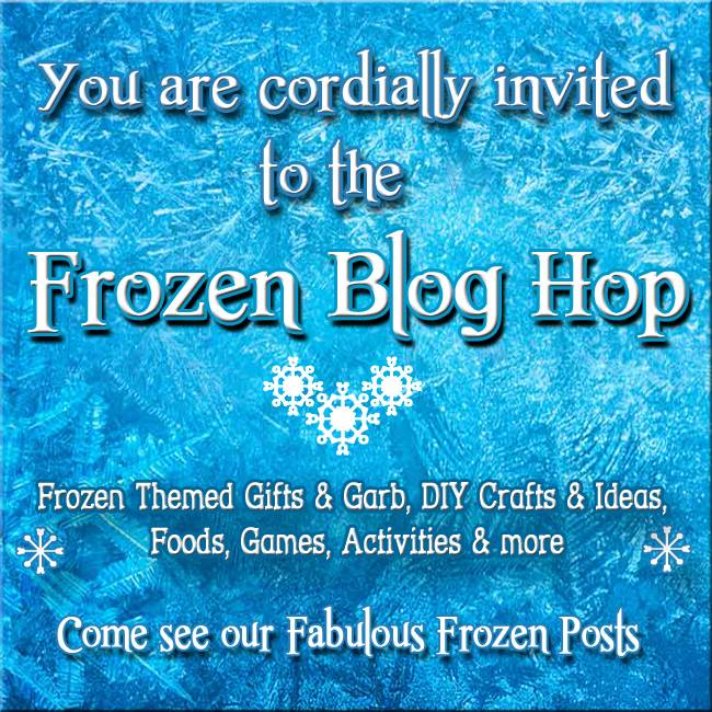 You are cordially invited to the Disney Bloggers Frozen Blog Hop for Crafts, Recipes, Party Ideas and More!