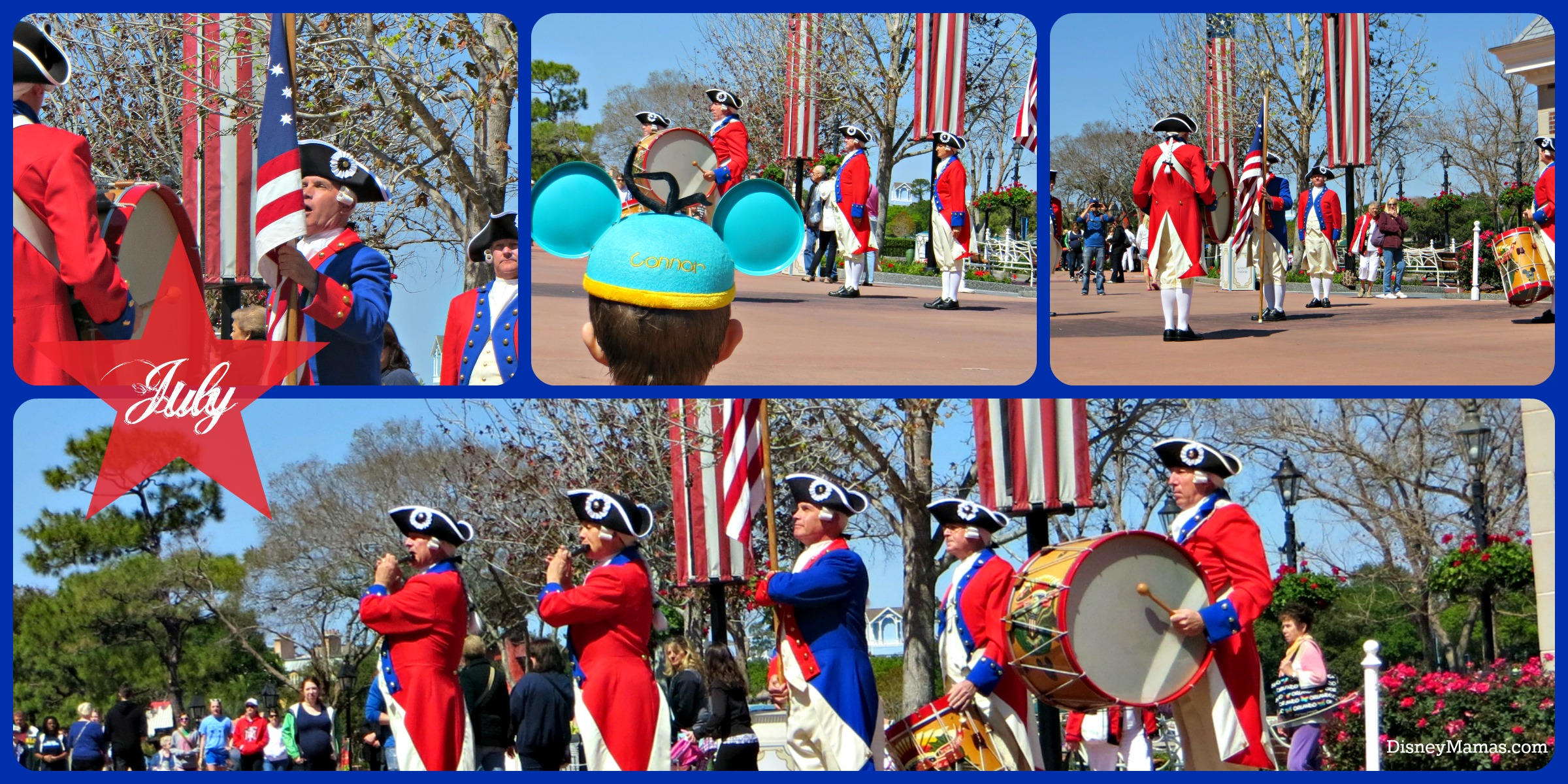 Spirit of America Fife and Drum Corps Disney Mamas