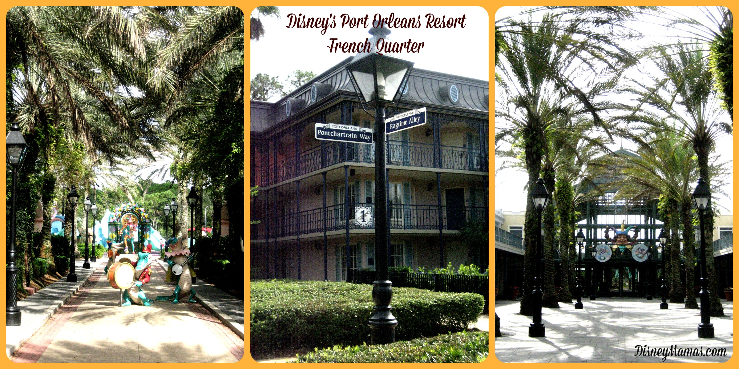 Disney's Port Orleans French Quarter offers beautifully maintained grounds.
